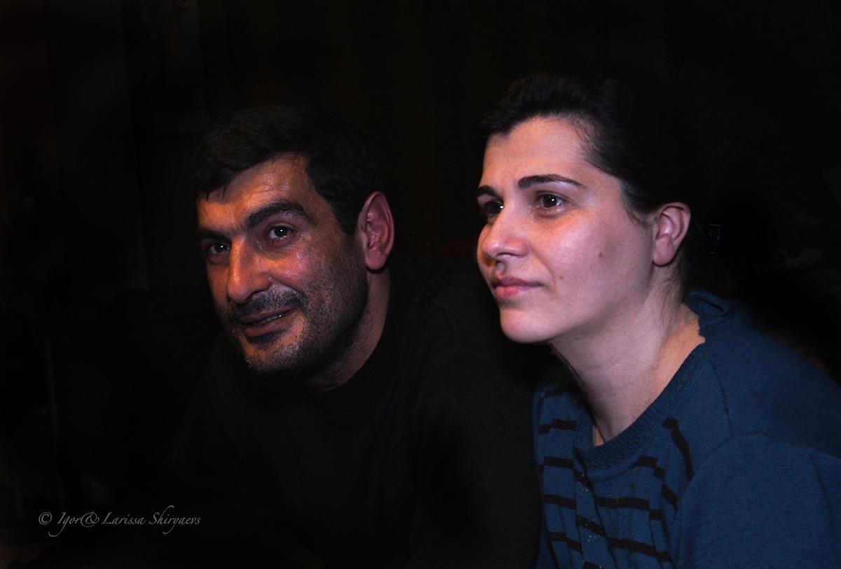 Давид Симонян, Ирина Симонян, Арцах, Нагорный Карабах