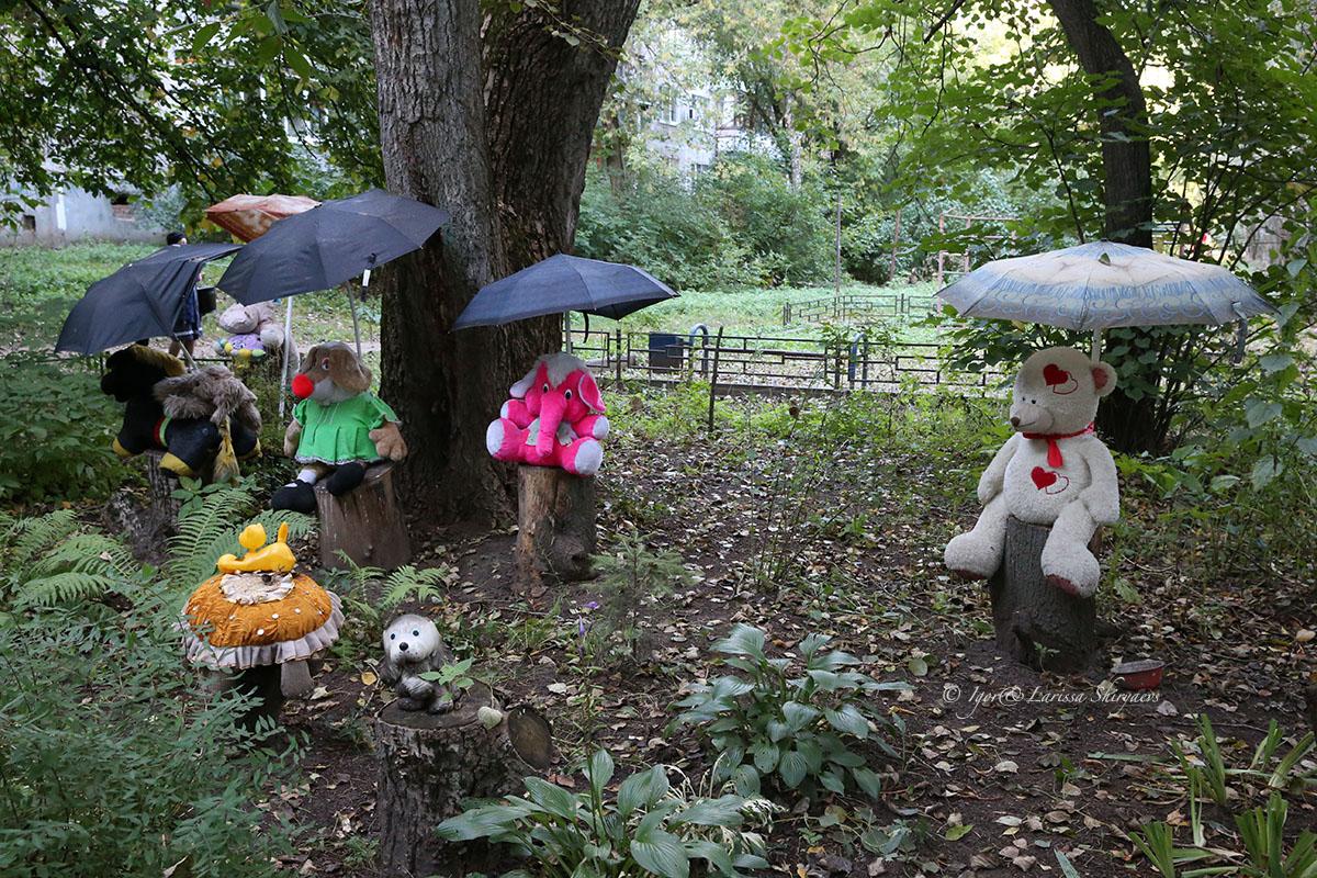 мягкие игрушки, улица Дугина, город Жуковский, Московская область