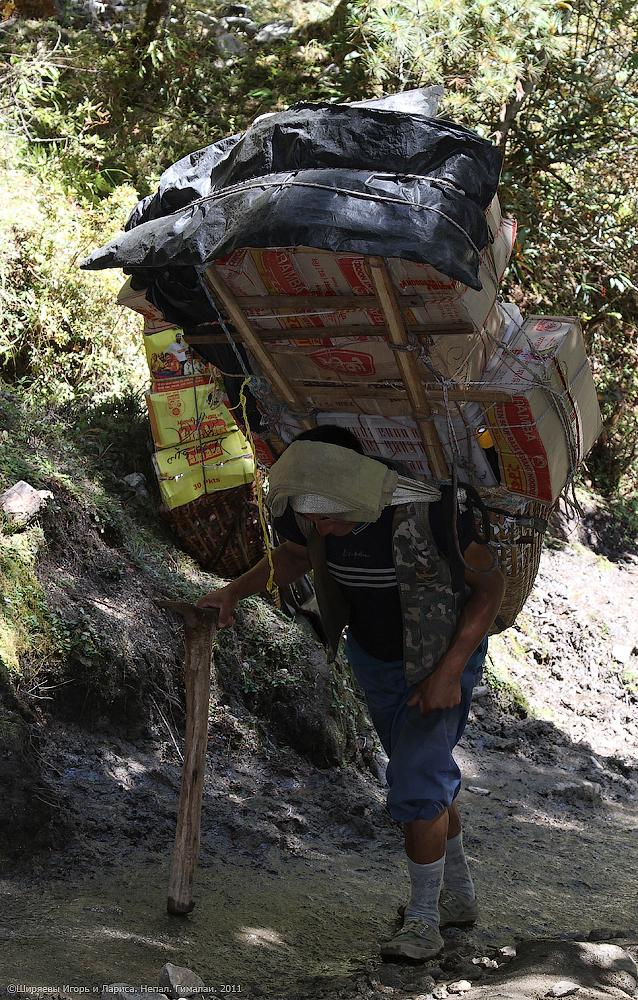 Гималаи. Непал. Шерпы.