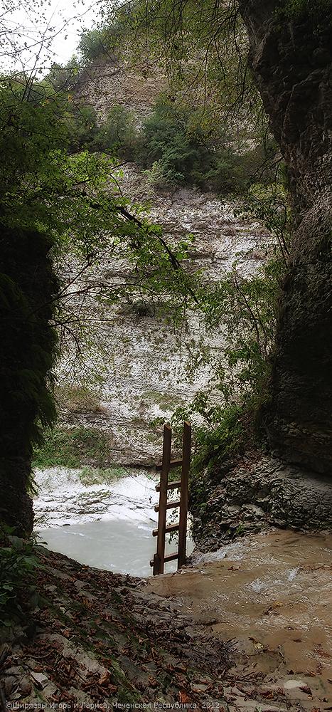 Чечня. Аргунское ущелье.