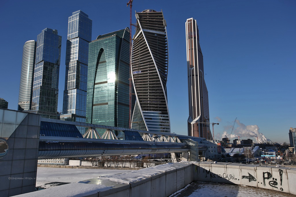 Moscow Bagration Bridge