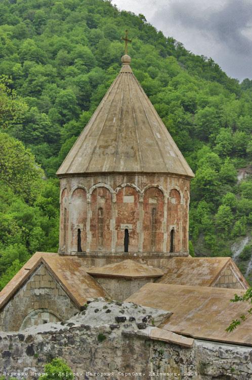 Нагорный Карабах. Арцах. Дадиванк.