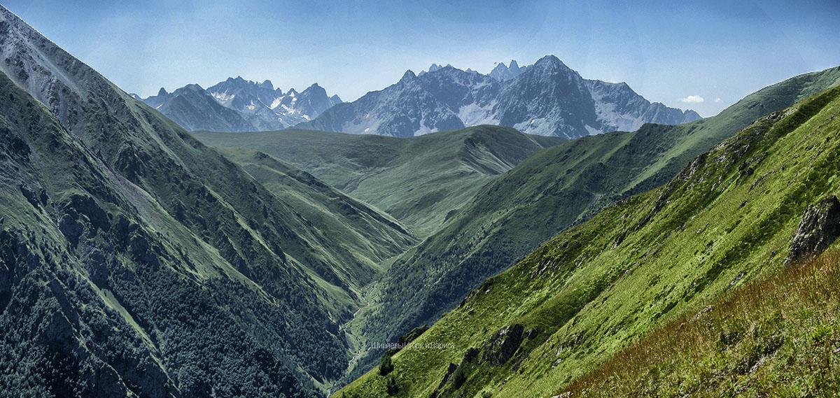 окрестностей озера Хурла-Кёль в Карачаево-Черкесии