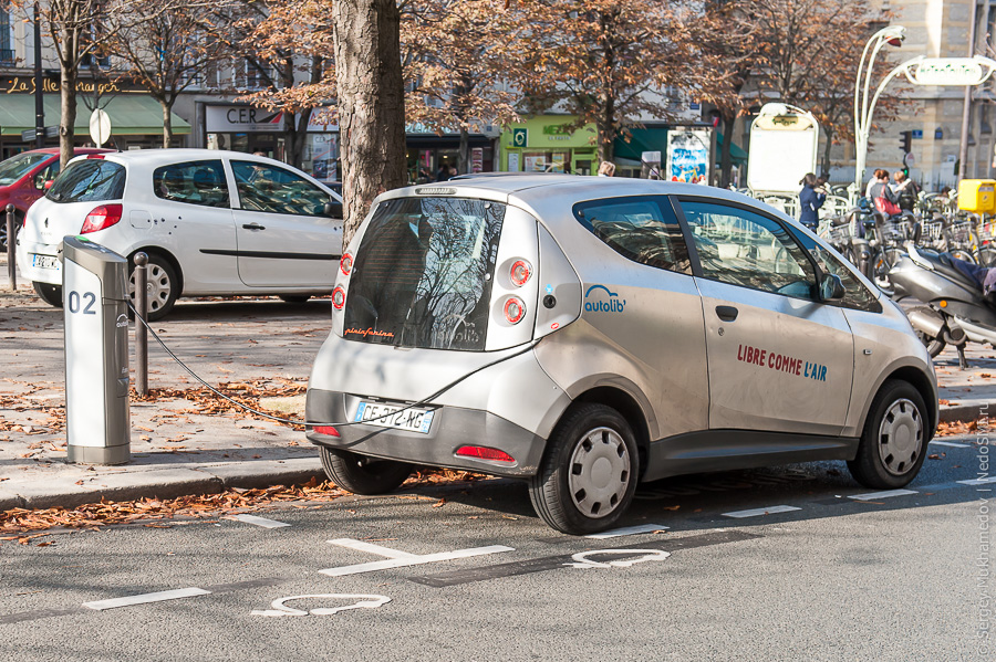 Электрический автомобиль Mitsubishi