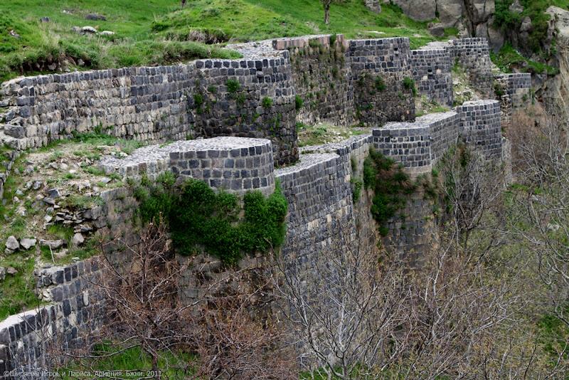 Армения. Бжни.