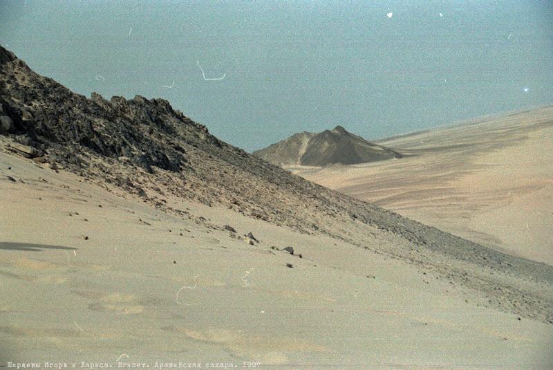 Египет Аравийская пустыня