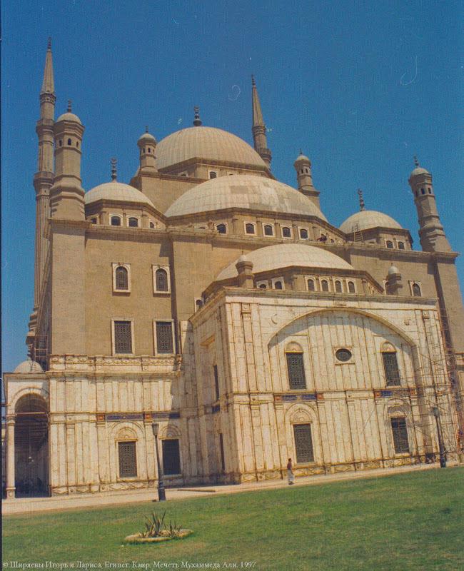 Каир. Мечеть Мухаммеда Али.
