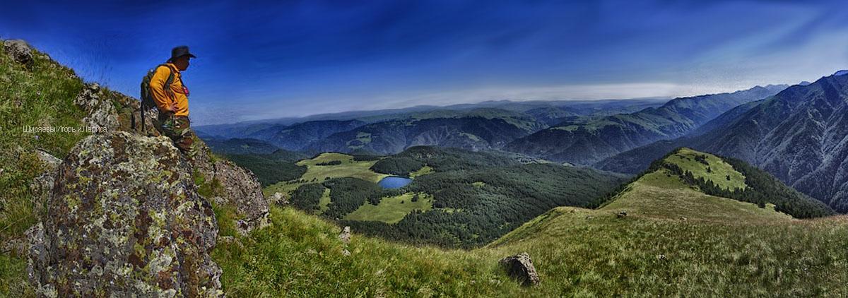 озеро Хурла-Кёль Карачаево-Черкесия